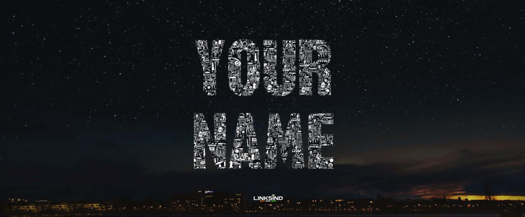 How To Generate Your Name in 96 Movie Font - LinksInd